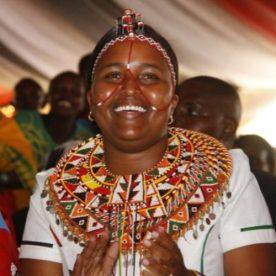 Naisula Lesuuda; First Samburu woman ever elected as an MP