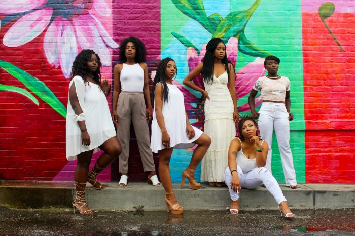 Photo of a group of black women